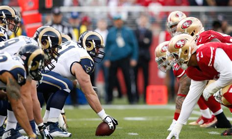 rams and 49ers three matchups to in 49ers vs rams niners wire