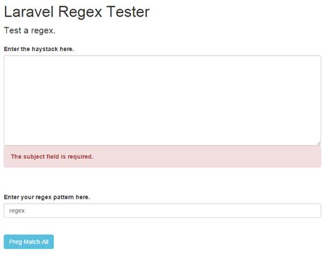 laravel namespace tutorial refactor the laravel regex tool to use repositories and