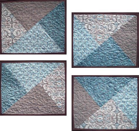 Free Easy Quilted Placemat Patterns by Simple Fast Placemats Pattern Av 145 Advanced Beginner