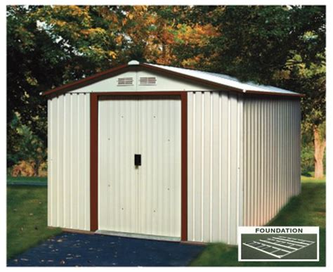 8x8 Metal Shed outdoor storage duramax model 50334 8x8 titan metal shed