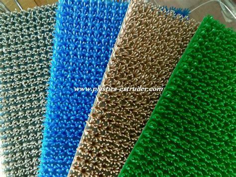 Grass Door Mat by Plastic Grass Door Mat Machine Plastic Extrusion