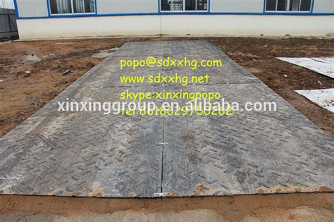 Road Mat by Plastic Plate And Construction Access Road Mat Or