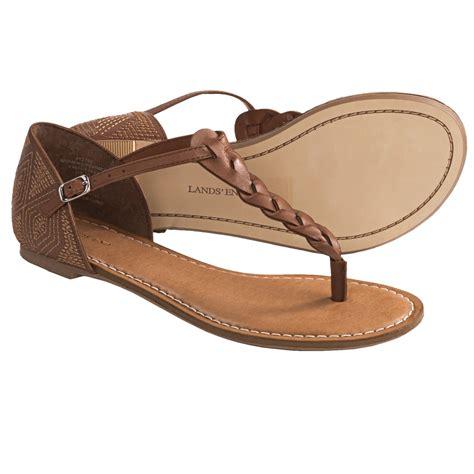 lands end sandals lands end amelia sandals leather for in