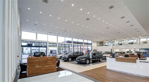 bmw showroom bmw showroom concept glamox