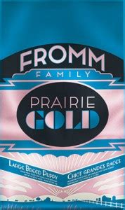 fromm large breed puppy prairie gold large breed puppy nourriture pour chiot de grande race fromm le