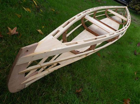 how to build a boat frame rushton igo 15