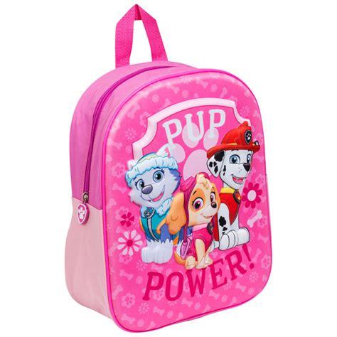 paw patrol 3d backpack pup power bags b m