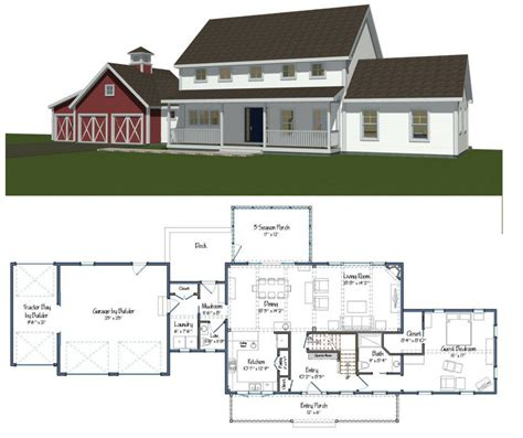 home builders house plans new yankee barn homes floor plans