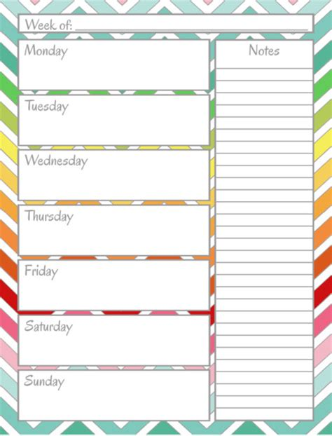 Home Planner free printable home management binder weekly calendar