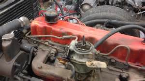 Chevrolet 250 Engine Chevy 250 6 Cyliner Running Great