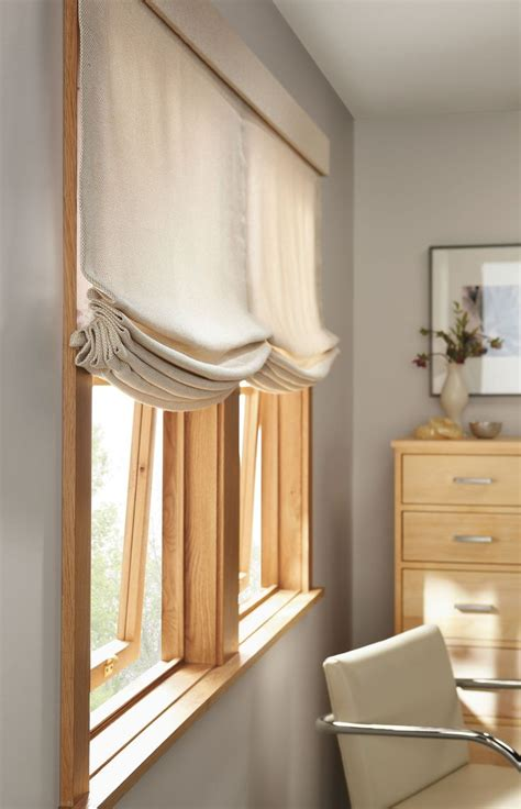 Blinds For Wide Windows Inspiration Relaxed Shades On Wide Window Shades Pinterest Light Grey Paint Wood Trim And Grey