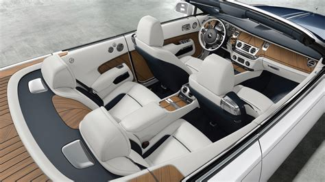 customized rolls royce interior rolls royce unveils bespoke barclay butera quot nautical dawn