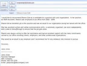 email template asking for letter of recommendation best