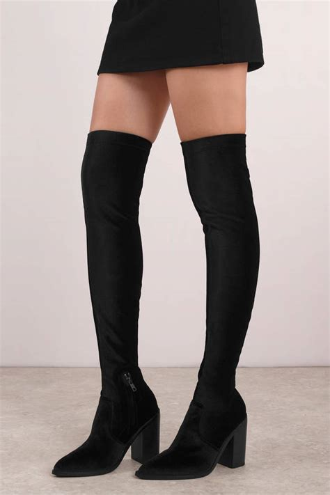 Country Boots Black Sol Hitam black sol sana boots designer boots black pointed