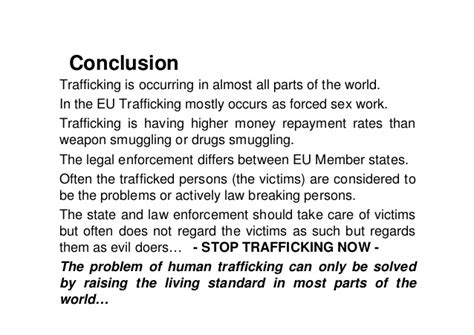 Modern Day Slavery Essay by Essays On Human Trafficking Docoments Ojazlink