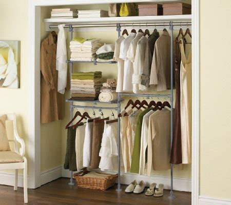 Adjustable Closet Organizer System by Extend It Adjustable Closet Organization System Page 1