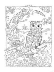 moon coloring pages for adults las 25 mejores ideas sobre doodle b 250 ho en y m 225 s