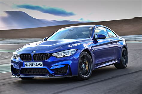 bmw m4 bmw m4 cs delivers 454 hp will come to u s motor trend