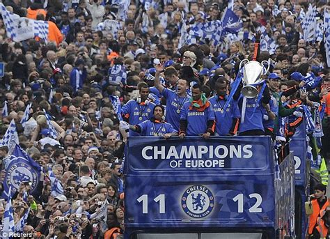 chelsea parade chelsea already planning victory parade if they end season