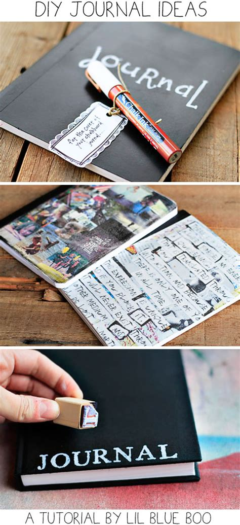 diy journal journal archives hackshaw lil blue boo