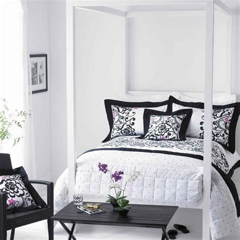 black and white shabby chic bedroom decosee com