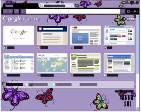 wesley designs chrome themes anna sui theme for google chrome love gorgeous