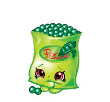 Freezy Green freezy peazy discover more best ideas about shopkins and