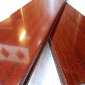 China Foshan Factory Scratch Resistant Iroko Hardwood