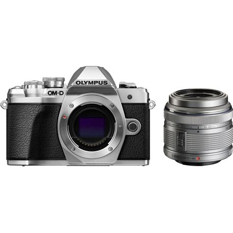 olympus om d e m10 iii 14 42mm ii r kit silver mirrorless cameras photopoint