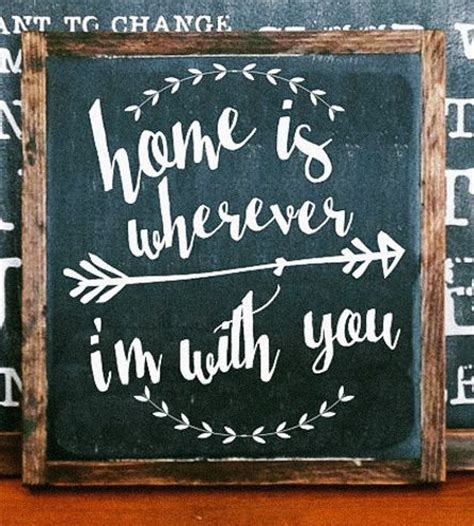 painted wood signs home decor 17 best ideas about painted signs on home