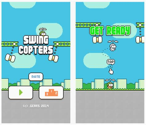flappy bird swing copters swing copters by flappy bird developer now available in
