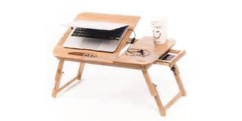 laptop knee desk without cooler pad smaller size folding wood laptop