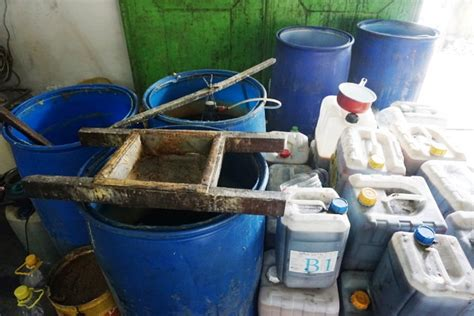 Bio Yang Kecil menarik pengolahan jelantah jadi biodiesel di bali