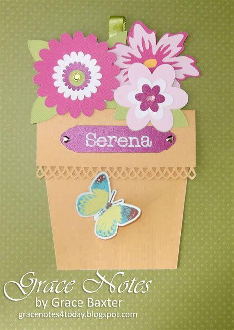 flower pot pocket card template grace notes for today flower pot pocket card