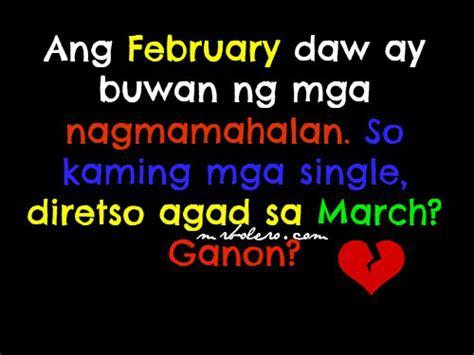 self kowts tagalog bitter valentines quotes quotesgram