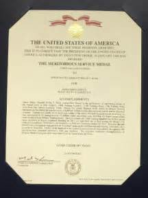 meritorious service medal citation template prestigious award for a persecuted air smsgt