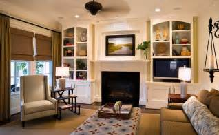 Decorating Ideas For Living Room With Fireplace And Tv Small Family Room With Fireplace And Tv