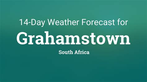 grahamstown south africa  day weather forecast