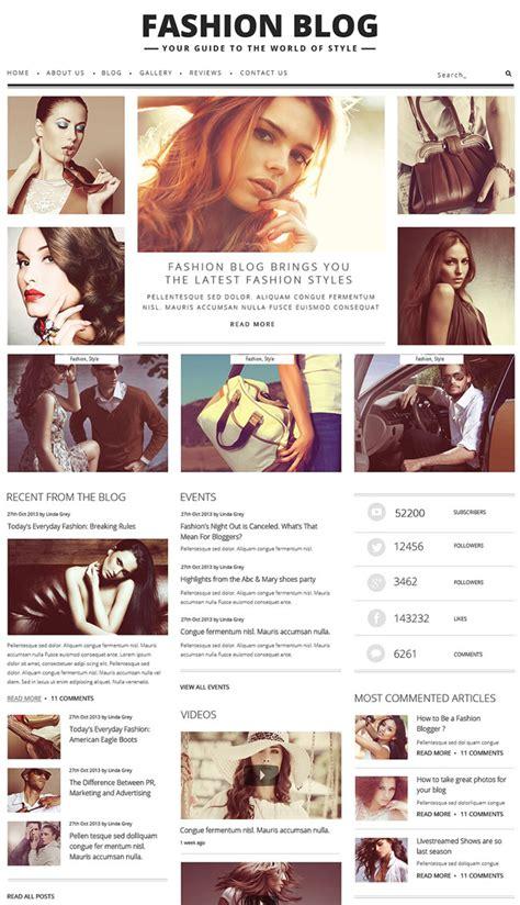 fashion and design t magazine blog 30 best fashion blog and magazine wordpress themes 2016