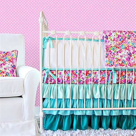 caden lane crib bedding caden lane 174 flower pond crib bedding collection bed bath