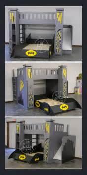 Toddler Bed Rails Perth Custom Batman Bed With Slide Storage
