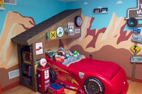 Disney Cars Bedroom Ideas by Lightning Mcqueen Wall Mural Toddler Rooms Disney
