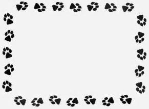 paw print powerpoint template paw print template cliparts co