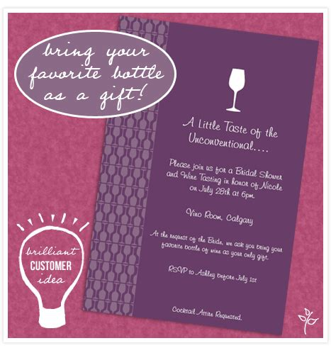 wine tasting bridal shower invitations wording brilliant customer idea wine tasting shower invitation consultants wedding and