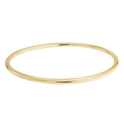 Polished Gold Filled Tube Stackable Bangle Bracelet