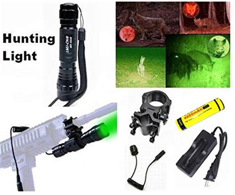 can coyotes see green light lmj cn 174 100 yard green led coyote hog light with