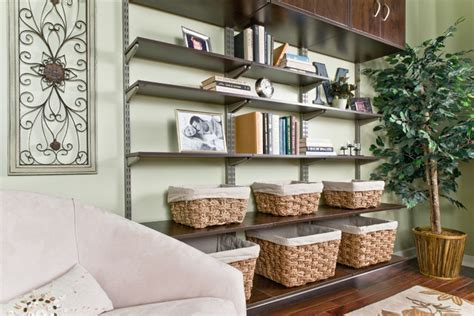 How To Organize A Living Room by Organized Living Freedomrail Living Room Bookshelves