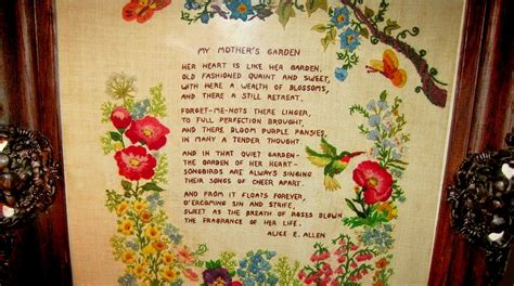 What S On Your Wall Signs Mottoes And More Plain And Walled Garden Poem