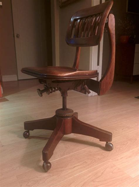antique swivel office chair parts antique swivel sikes of buffalo walnut office chair by