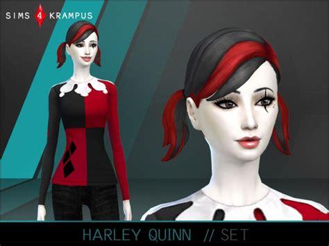 Harleyquinn Sims 4 Updates Best Ts4 Cc Downloads | harley quinn set at sims 4 krus sims 4 updates